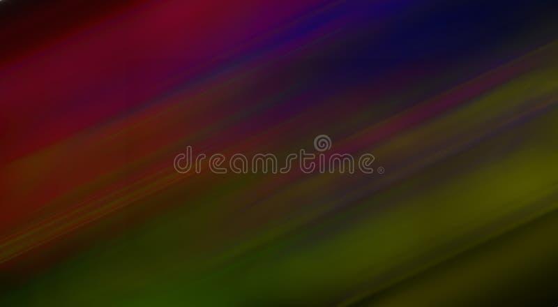 Abstrakcjonistyczny wektorowy kolorowy ruch zamazywał ocienioną tło tapetę żywa koloru wektoru ilustracja ilustracji