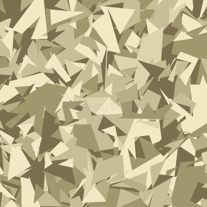 Abstrakcjonistyczny Wektorowy Militarny kamuflażu tło royalty ilustracja