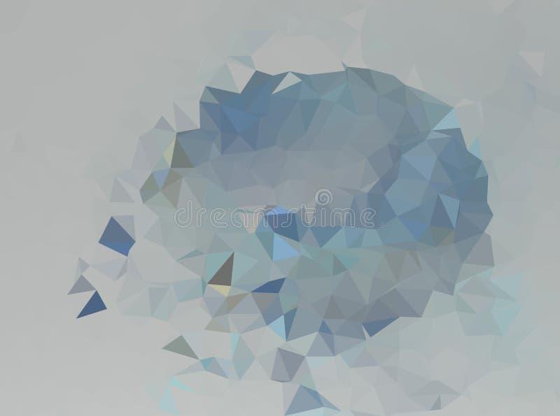 Abstrakcjonistyczny wektorowy poligonalny tło Niski poli- trójgraniasty wzór Najlepszy graficzny resourse dla twój projekta pracu zdjęcie royalty free