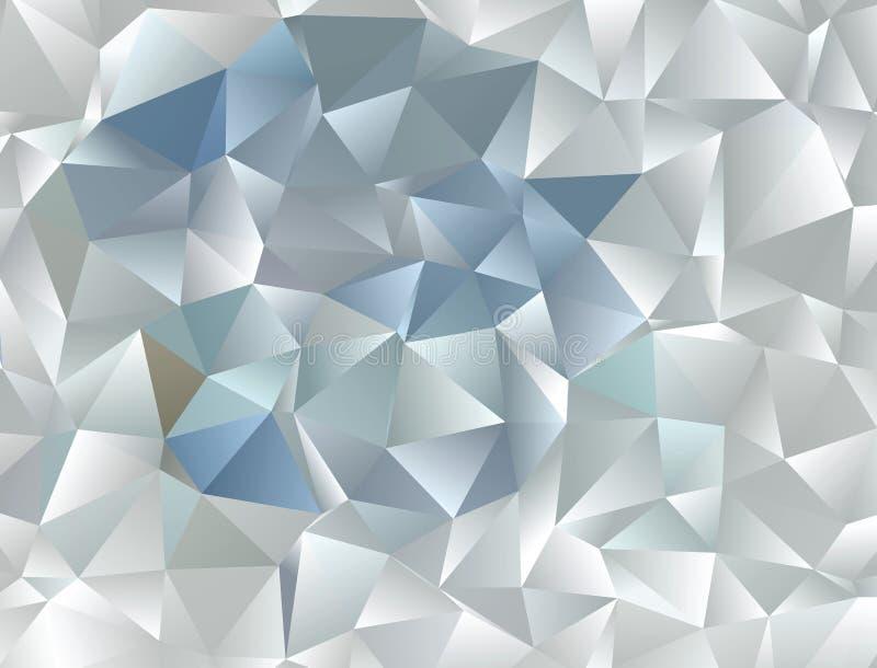 Abstrakcjonistyczny wektorowy poligonalny tło Niski poli- trójgraniasty wzór Najlepszy graficzny resourse dla twój projekta pracu fotografia stock