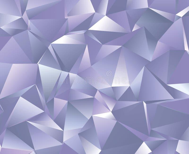 Abstrakcjonistyczny wektorowy poligonalny tło Niski poli- trójgraniasty wzór Najlepszy graficzny resourse dla twój projekta pracu fotografia royalty free