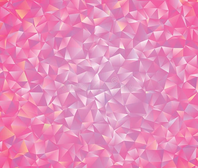 Abstrakcjonistyczny wektorowy poligonalny tło Niski poli- trójgraniasty wzór Najlepszy graficzny resourse dla twój projekta pracu obraz royalty free