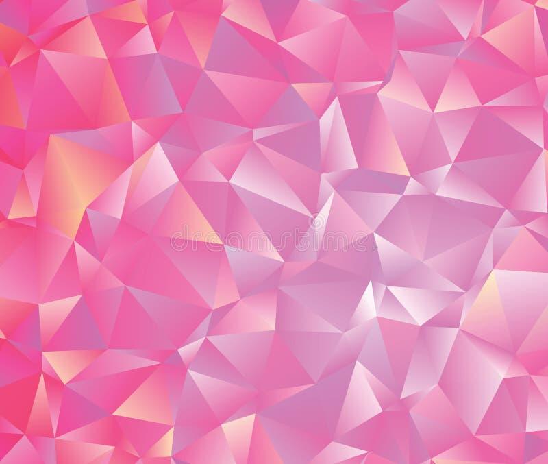Abstrakcjonistyczny wektorowy poligonalny tło Niski poli- trójgraniasty wzór Najlepszy graficzny resourse dla twój projekta pracu obrazy royalty free