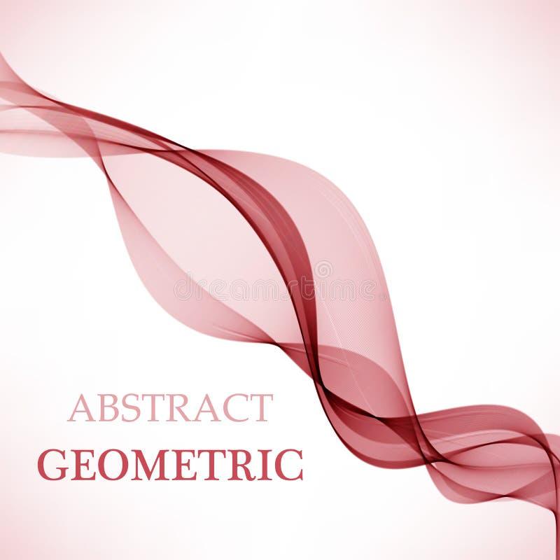 Abstrakcjonistyczny wektorowy tło, koloru przepływ machający wykłada dla broszurki, strona internetowa, ulotka projekt ilustracji