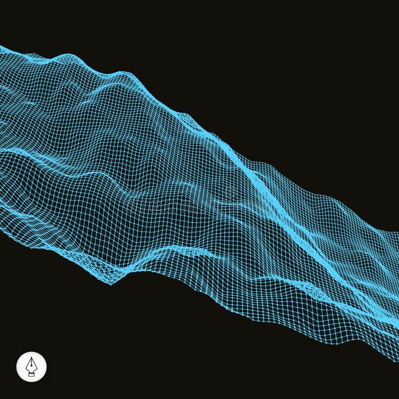 Download Abstrakcjonistyczny Wektoru Krajobrazu Tło Ilustracja Wektor - Ilustracja złożonej z guzek, 1: 53785081