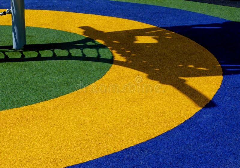 Abstrakcjonistyczny widok kolorowy boisko szczegół zdjęcia royalty free