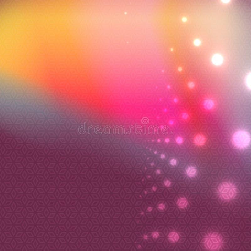 Abstrakcjonistyczny wielo- koloru tło ilustracja wektor