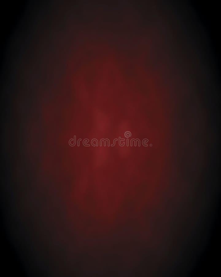 Abstrakcjonistyczny wino, zmrok - czerwony Bokeh tło ilustracji