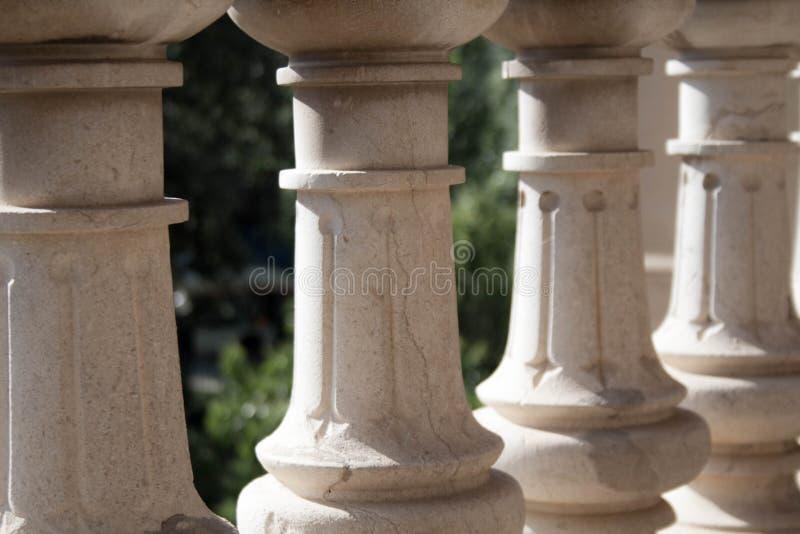 Abstrakcjonistyczny wizerunek Ciutadella park zdjęcia royalty free