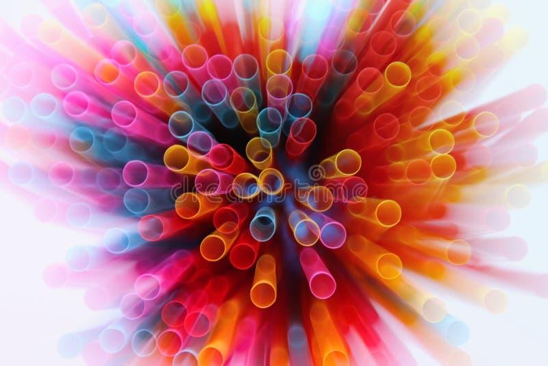 abstrakcjonistyczny wizerunek Kolorowy światło wybucha zdjęcie royalty free