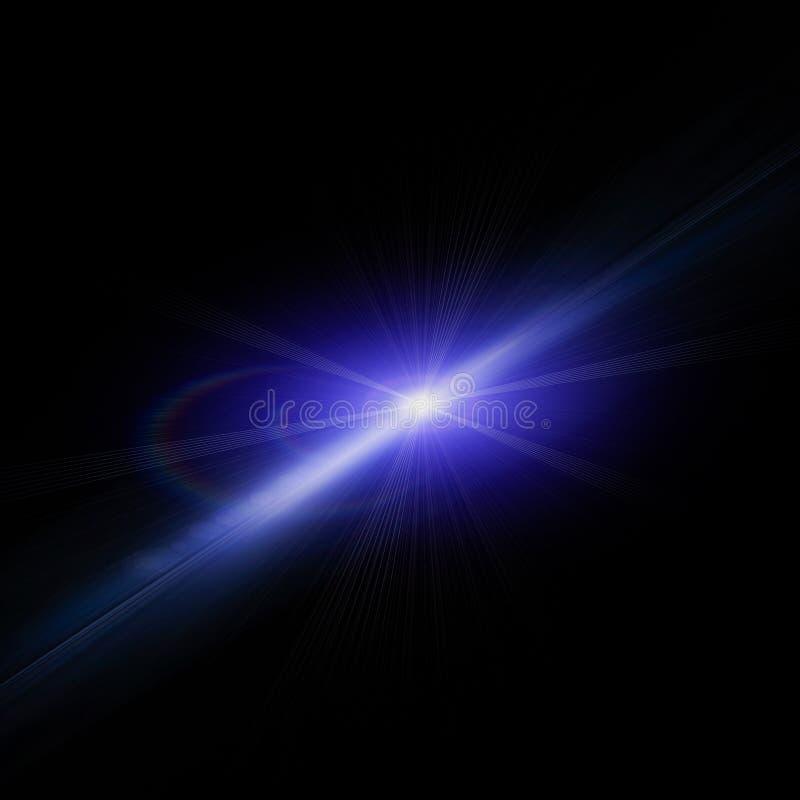 Abstrakcjonistyczny wizerunek oświetlenie raca ilustracji