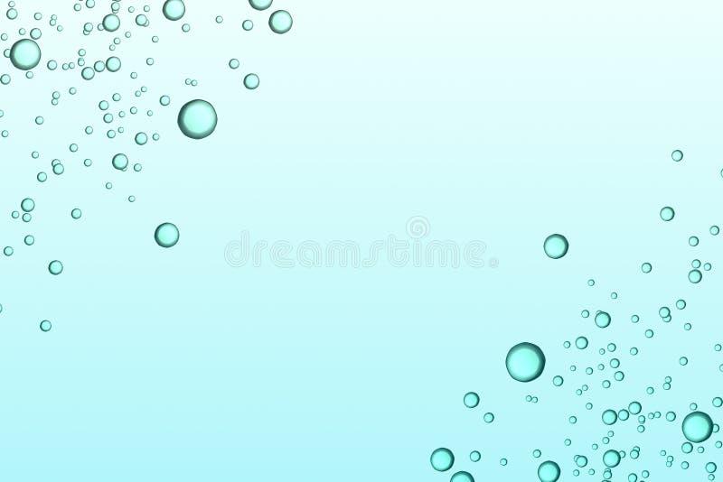 Abstrakcjonistyczny wizerunku tło ilustracja wektor