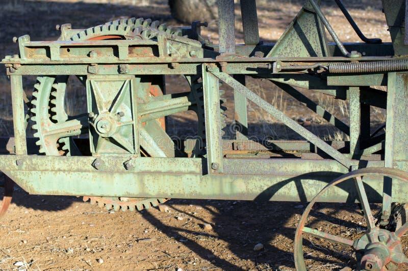 Abstrakcjonistyczny wp8lywy na rocznik rolnej maszynerii zdjęcia stock
