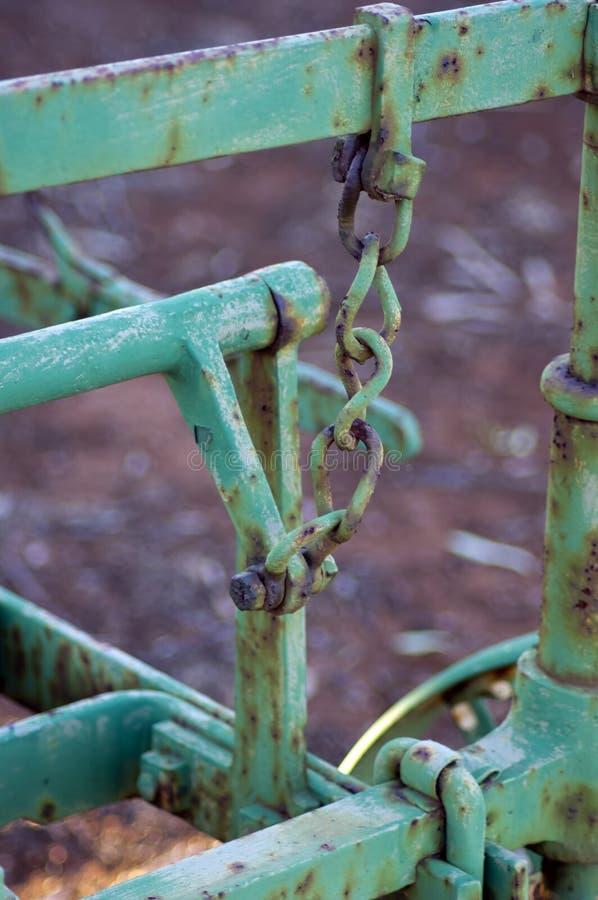 Abstrakcjonistyczny wp8lywy na rocznik rolnej maszynerii fotografia stock
