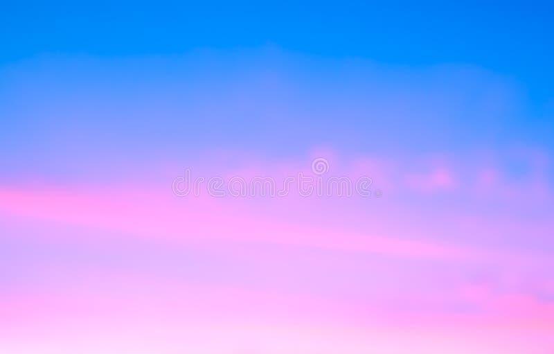 Abstrakcjonistyczny wschodu słońca niebo obrazy stock