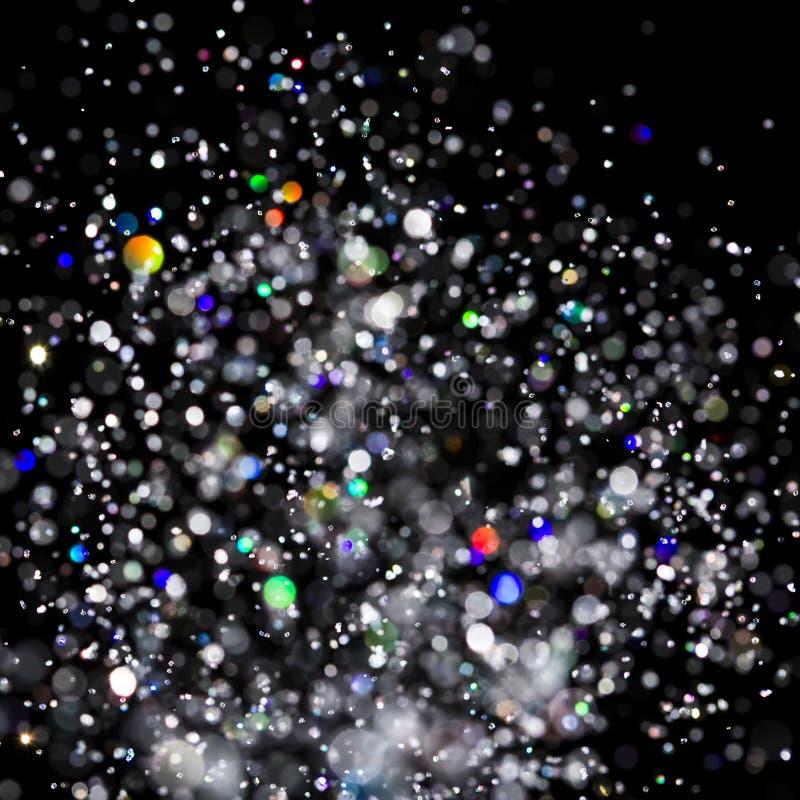 Abstrakcjonistyczny wybuchu światła tło, kolorów światła Błyska Wybucha zdjęcie stock