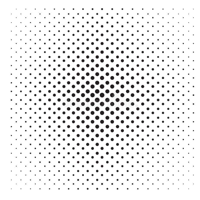Abstrakcjonistyczny wystrzał sztuki Kropkujący wzór ilustracja wektor