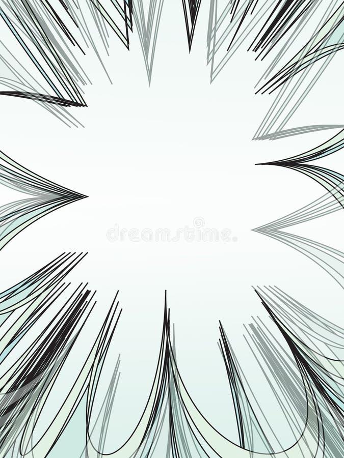 abstrakcjonistyczny wzór ilustracja wektor