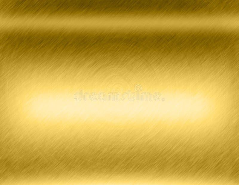 Abstrakcjonistyczny złocisty tło ja jest ilustracyjnym pracą royalty ilustracja