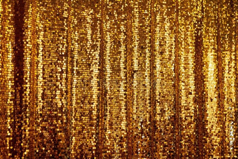 Abstrakcjonistyczny złoty błyskotliwości tło obraz royalty free