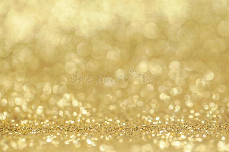 Abstrakcjonistyczny złoty błyskotliwości tło fotografia stock