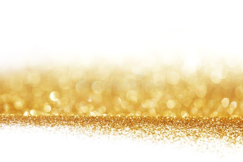 Abstrakcjonistyczny złoty błyszczący tło zdjęcie stock
