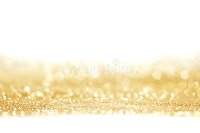 Abstrakcjonistyczny złoty błyszczący tło fotografia royalty free