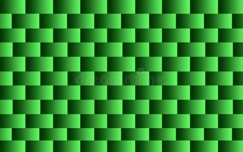 Abstrakcjonistyczny złudzenie zielony kolor zdjęcia stock