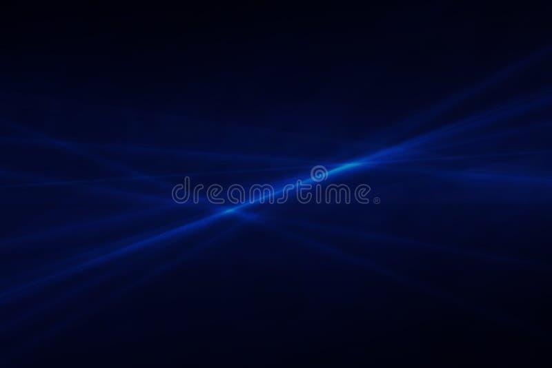 Abstrakcjonistyczny zmrok - błękitny tło z graficznym elementem royalty ilustracja