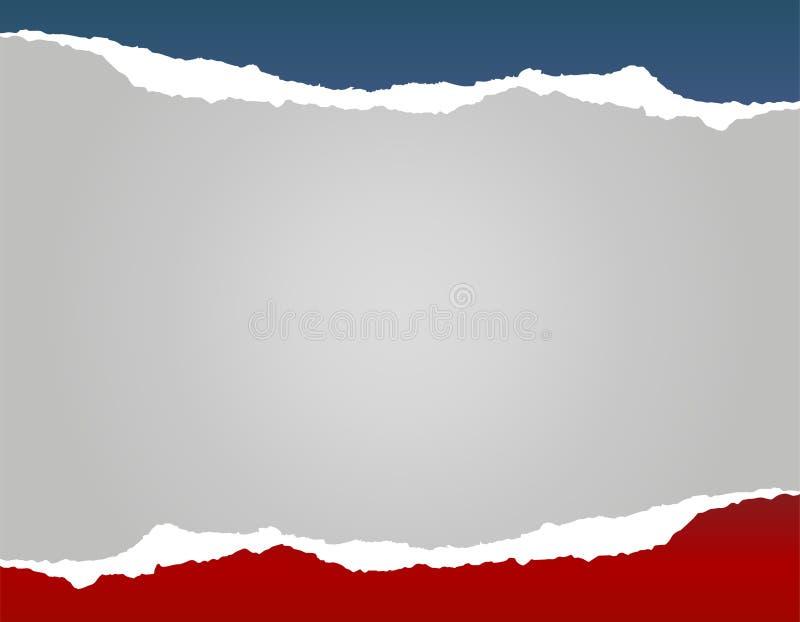 Abstrakcjonistyczny zmrok - czerwieni, popielatego i błękitnego wektorowy tło, ilustracja wektor