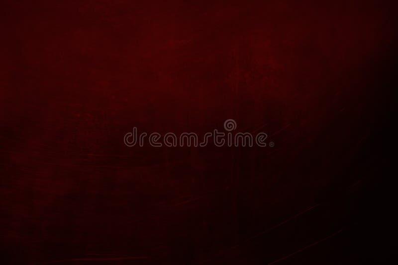 Abstrakcjonistyczny zmrok - czerwona stara ścienna tekstura lub tło fotografia royalty free
