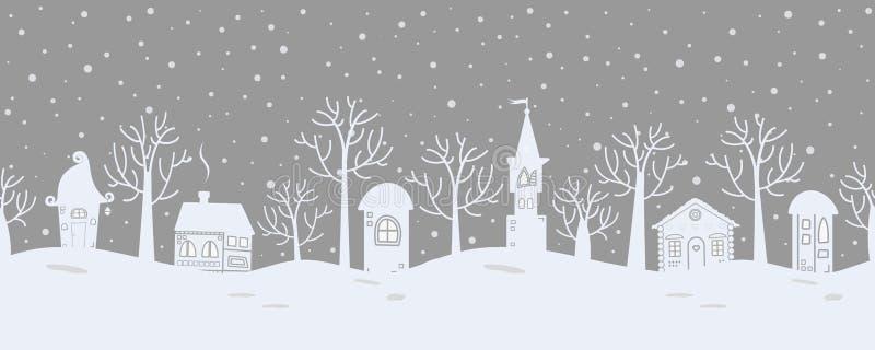 abstrakcjonistycznych gwiazdkę tła dekoracji projektu ciemnej czerwieni wzoru star white Bajki zimy krajobraz rabatowy bezszwowy royalty ilustracja
