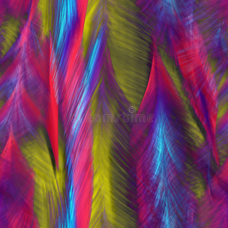 abstrakcjonistycznych ptaków jaskrawy piórka obraz royalty free