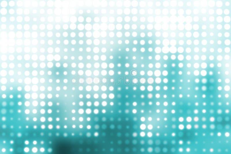 abstrakcjonistycznych tła błękitny okregów modny biel ilustracji