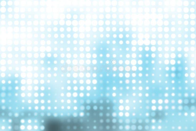 abstrakcjonistycznych tła błękitny okregów modny biel royalty ilustracja