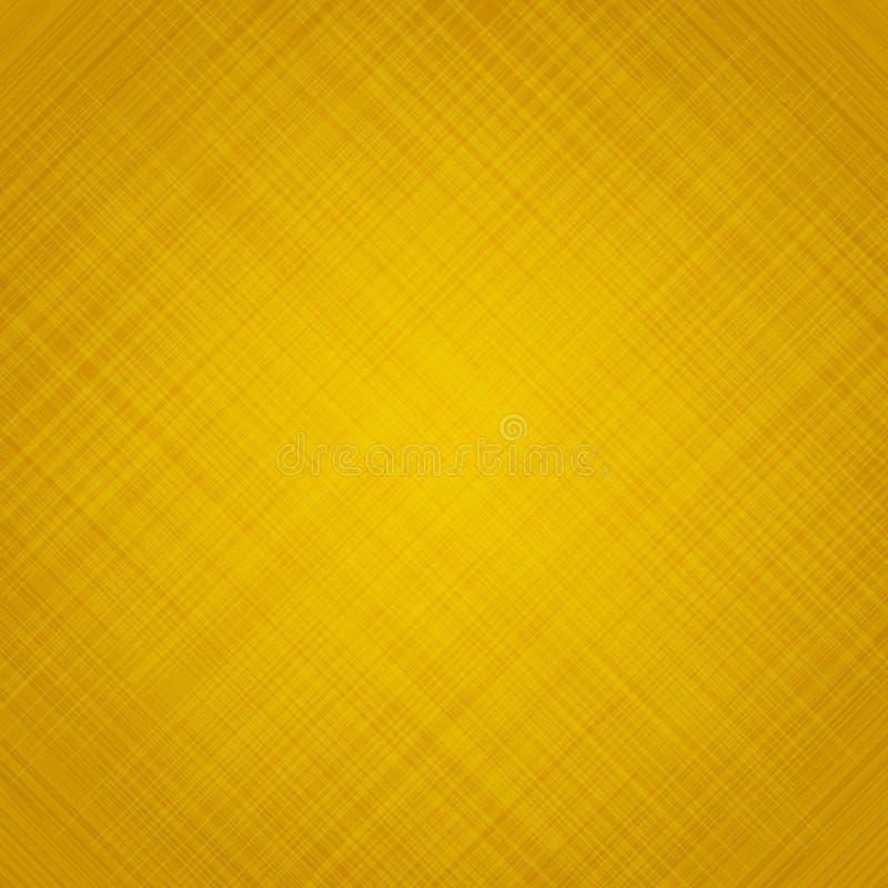Abstrakcyjna żółta musztarda tło i tekstura smugi rysy royalty ilustracja