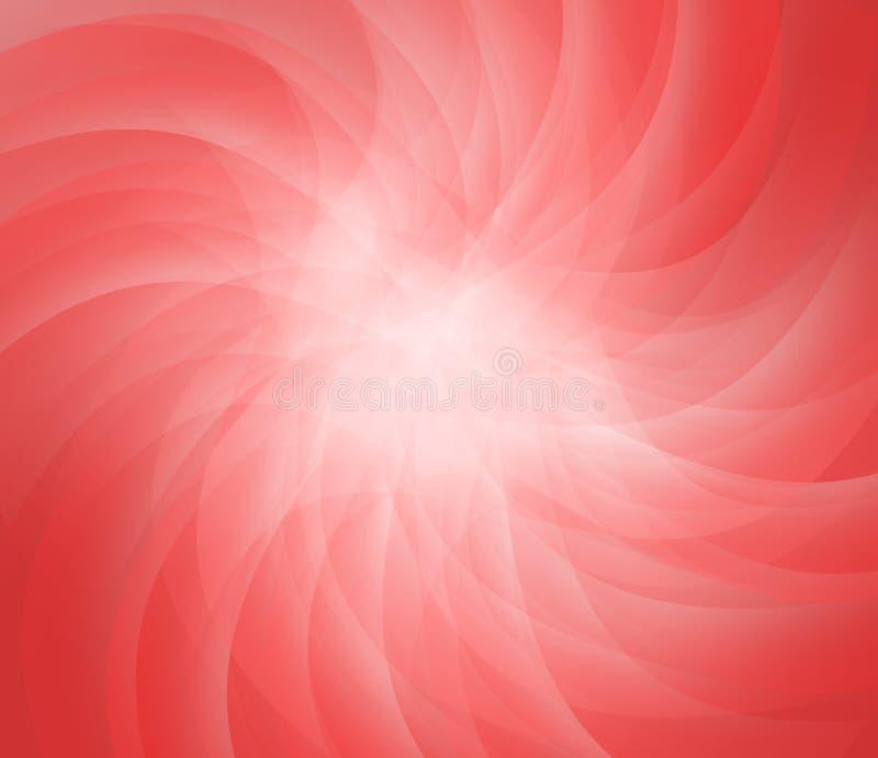 abstrakcyjna czerwone tło royalty ilustracja