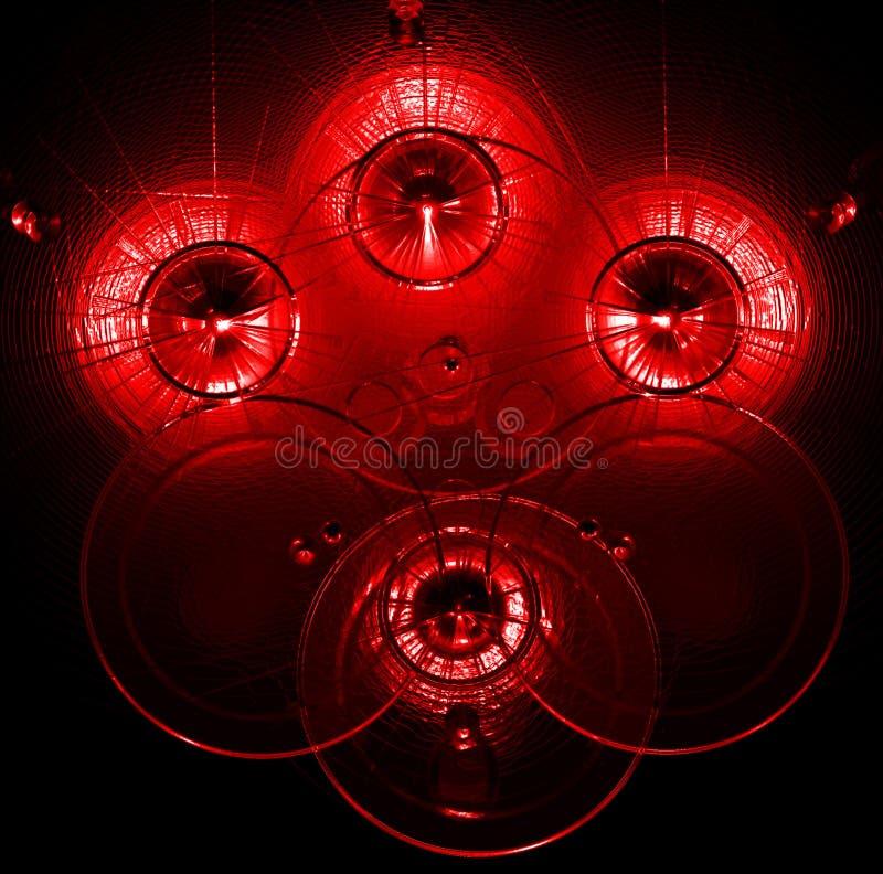 abstrakcyjna czerwone tło ilustracji