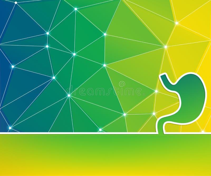 Abstrakcyjne tło rysowania linii koncepcyjnych dla sieci Web, aplikacji mobilnej, projektowania szablonu ilustracji, infografii b ilustracja wektor