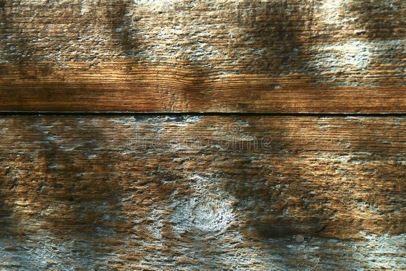 Abstrakcyjne tło teksturowane Stara drewniana powierzchnia z farbą obierającą zdjęcie stock