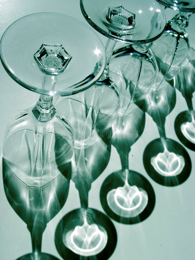 abstrakcyjny kieliszki wina obrazy stock