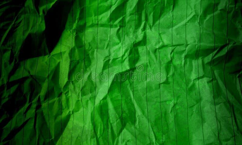 Abstrakcyjny papier zgnieciony ciemnozielony jasnozielony kolor tekstura tła marmur Wzór ścian Wnętrza zdjęcie stock