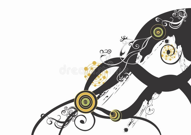 abstrakcyjny tło royalty ilustracja