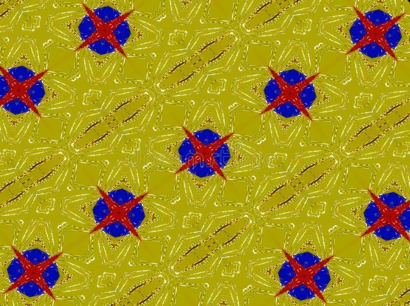 abstrakcyjny tło Jaskrawy wzór od kształtów, lampasy ilustracji