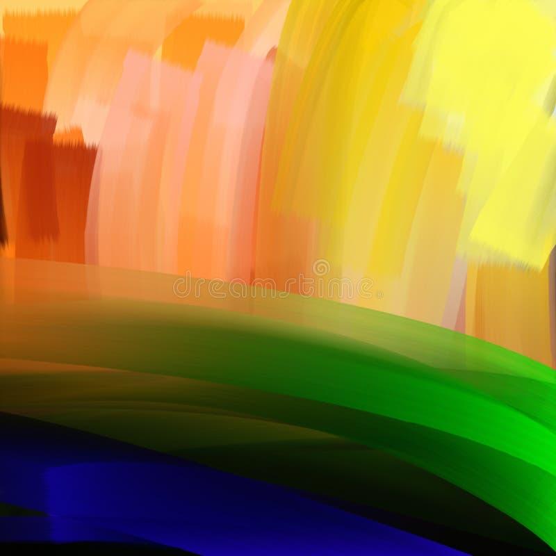 abstrakcyjny tło Kolorowy, multicolor ilustracji