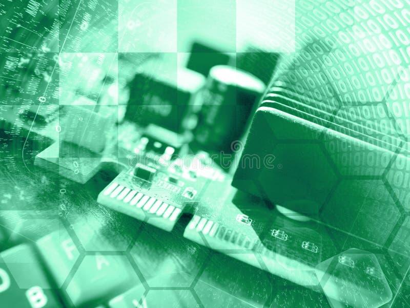 abstrakcyjny tło składu konceptualny komputer zdjęcia royalty free
