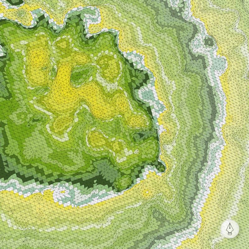 Download Abstrakcyjny Tło Krajobrazu Mozaika Zdjęcie Stock - Obraz złożonej z arte, pokrywa: 53785612