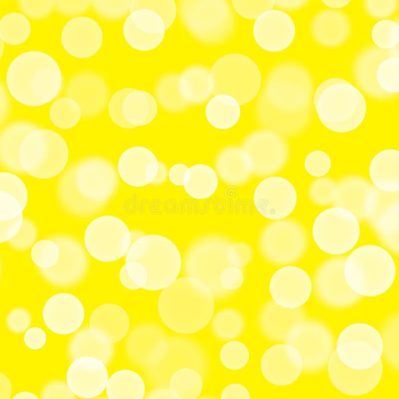abstrakcyjny t?o R?ka rysuj?ca tekstury karta Bryzga b?bla dzi?s?o Projekt dla tło, tapety, pokrywy pakuje kolor żółtego ilustracji