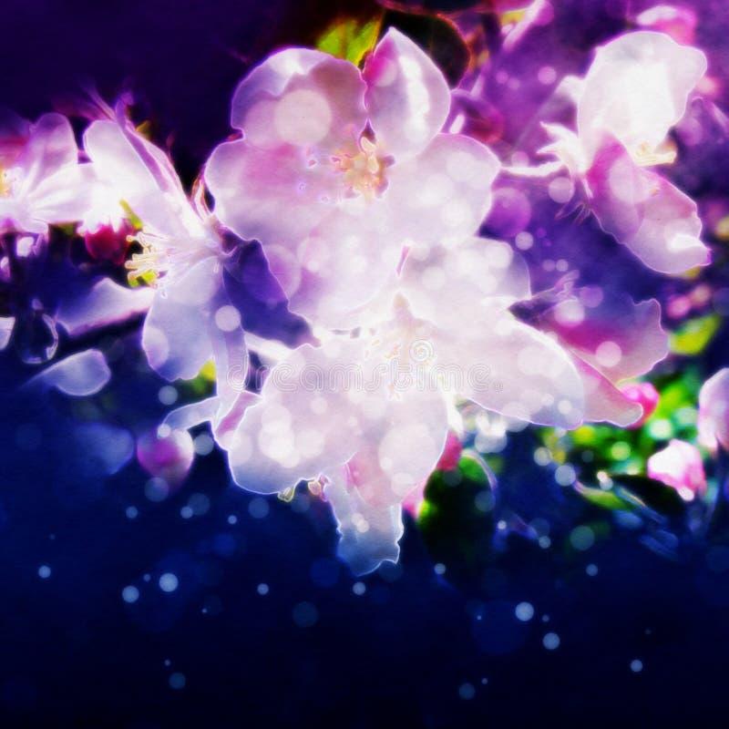 abstrakcyjnych artystycznych zakrzywionych kwiaty gradientów ilustracyjne linie kreślą styl ilustracji