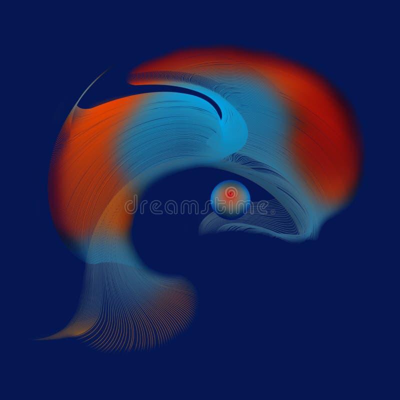 abstrakcyjnych grafiki tło ilustracja wektor